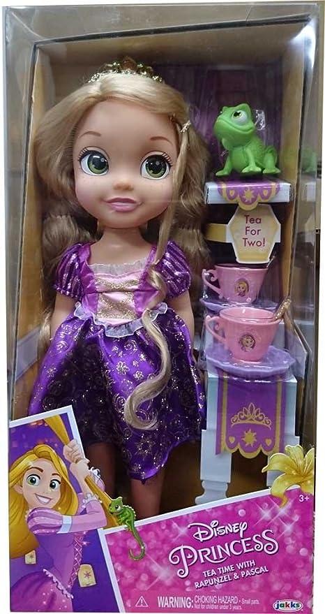 buy disney princess tangled tea time with rapunzel pascal doll