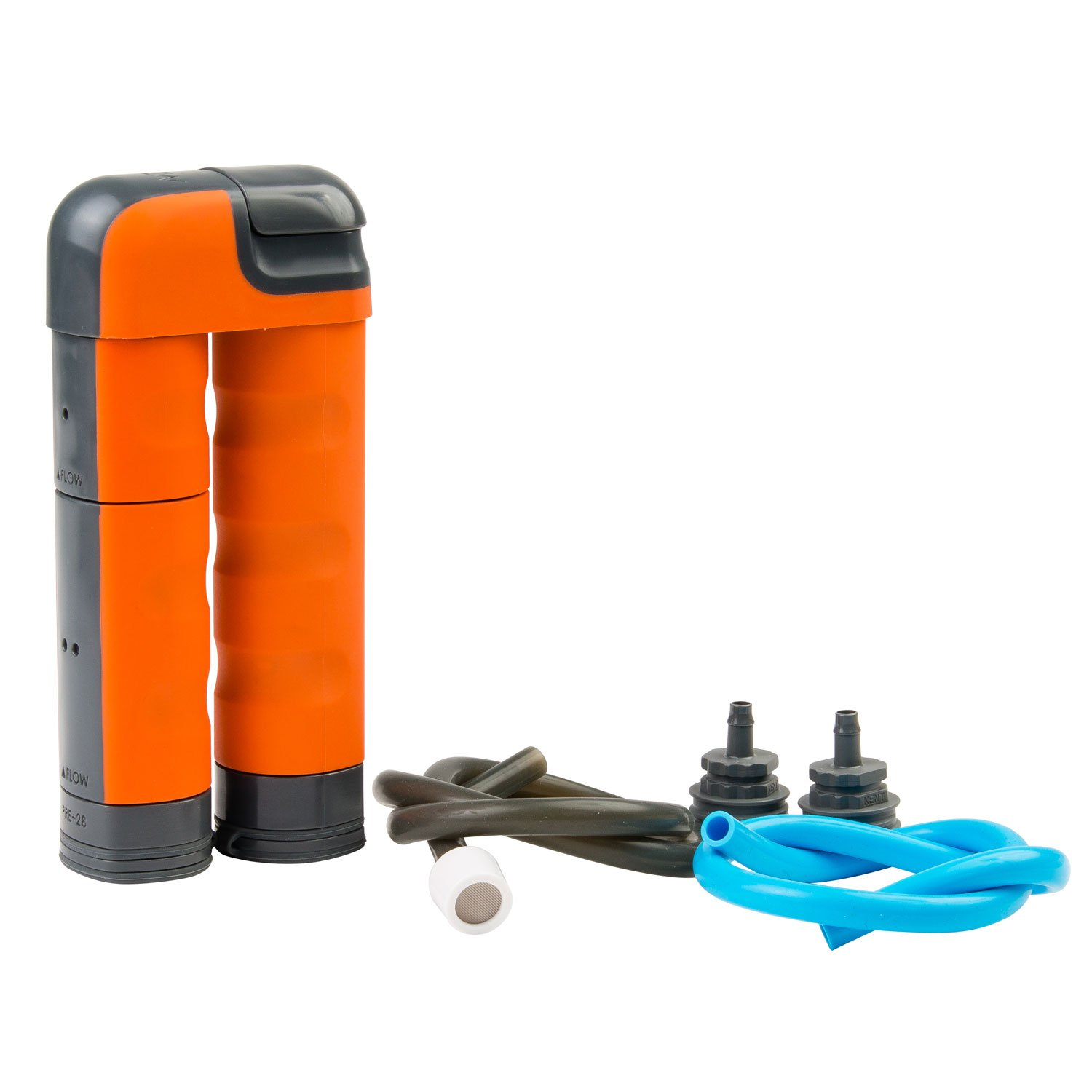 Renovo Water MUV Backcountry Pump Water Filter - Blocks Chemicals, Heavy Metals, Bacteria, and more by Renovo Water
