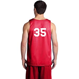 d897f2483 Players Inc Basketball Custom Jersey Numbered Reversible Mesh Basketball  Uniform Jersey Top