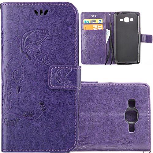 Alala Wallet Case for Galaxy G313,Leather for Galaxy G313,Samsung G313 Case For Girls,Fashion PU Case Cover for Samsung Galaxy Ace 4 LTE / G313 - Samsung Flip Cover Ace Galaxy