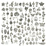 Wholesale-Bulk-Lots-Jewelry-Making-Silver-Charms-Mixed-Smooth-Tibetan-Silver-Metal-Charms-Pendants-DIY-for-Nec