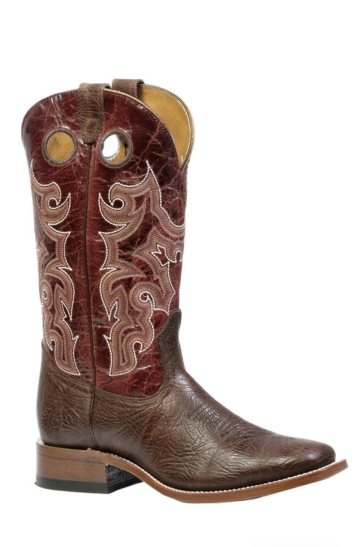 Boulet Men's Shoulder Taurus Noce Puma Rojo Boot Square Toe - 4354