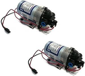 (2) SHURflo 12v Volt Demand Water Pumps Lawn Yard Garden Chemical Sprayer by The ROP Shop