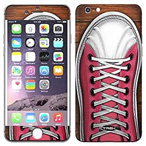 Skin Decal for Apple iPhone 6 - Retro Basketball Sneakers Pink