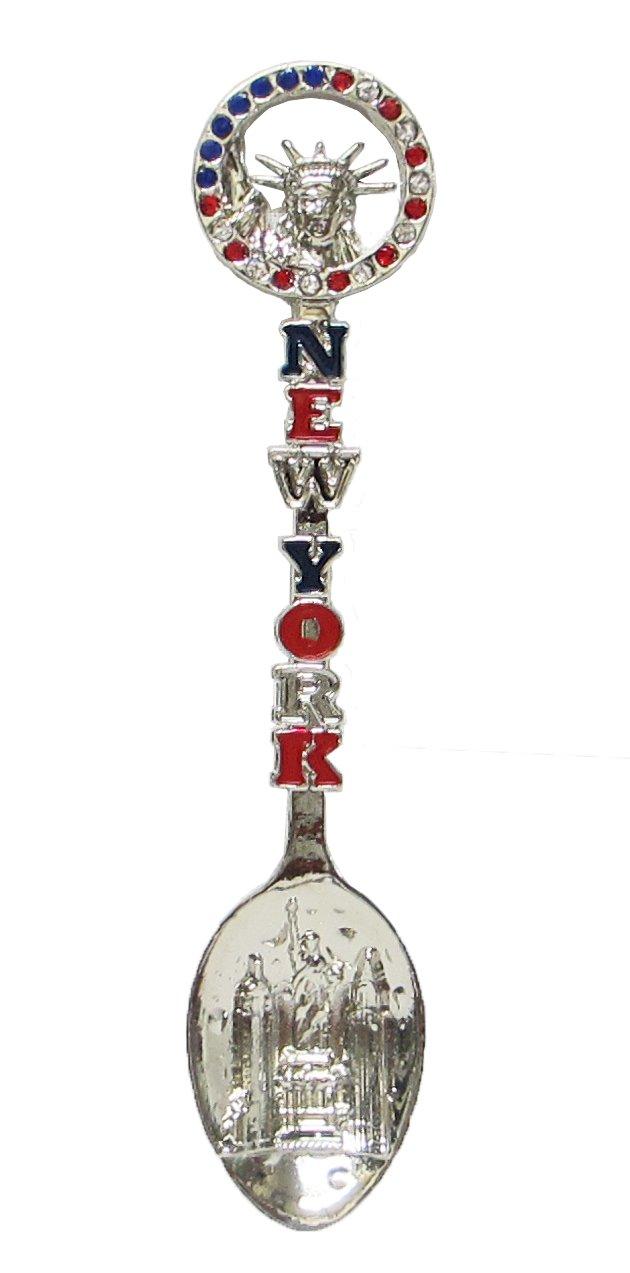 New York Souvenir Decorative Metal Spoon