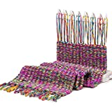 Fashion Scarf Knitting Machine Knitting Loom Knit Tool Child Educational Knitting Wool Yarn Woven Toys