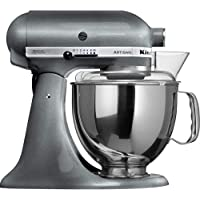KITCHENAID Artisan Series 5-Quart Tilt-Head Stand Mixer (Pearl Metallic)