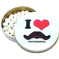 Moustache I Love Moustache 薄荷糖罐(美国波士顿)