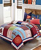Duke Imports DQ557T Sports 2Piece Sports Quilt Set, Twin Size