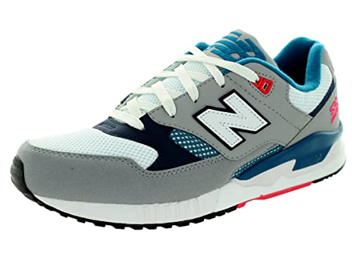 a7893b1be89ea New Balance Men's 90s Running 530 Classics Micro Chip with Blue Infinity & Blue  Running Shoe