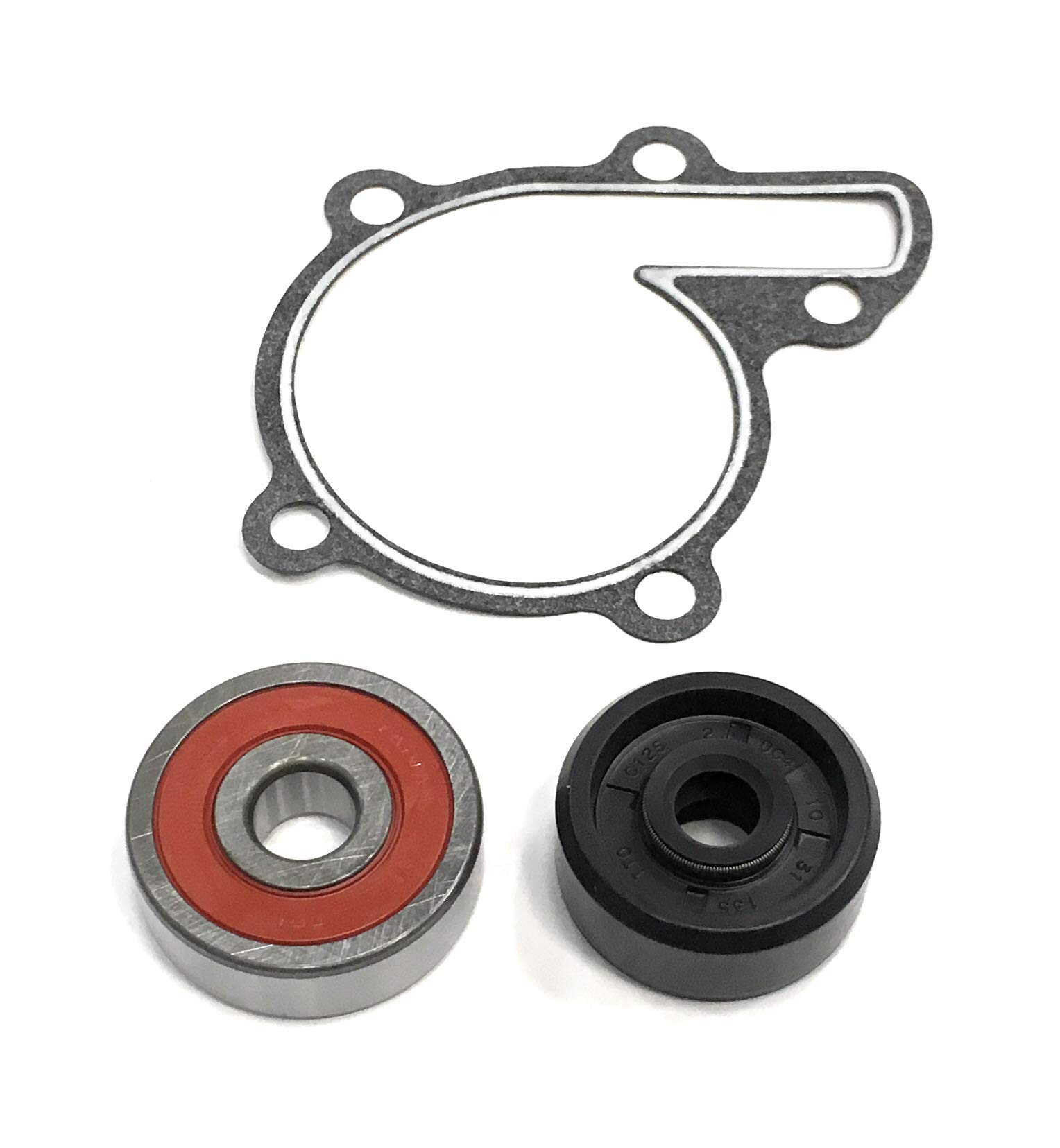 REPLACEMENTKITS.COM Brand Fits Yamaha 350 Warrior and YFM350 Front Bearings /& Seals