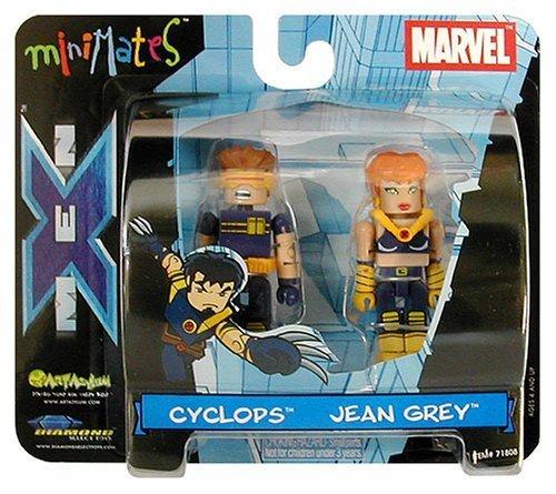 Art Asylum Marvel Minimates Series 3 - Ultimate X-Men Cyclops and Jean Grey - (2-pack)