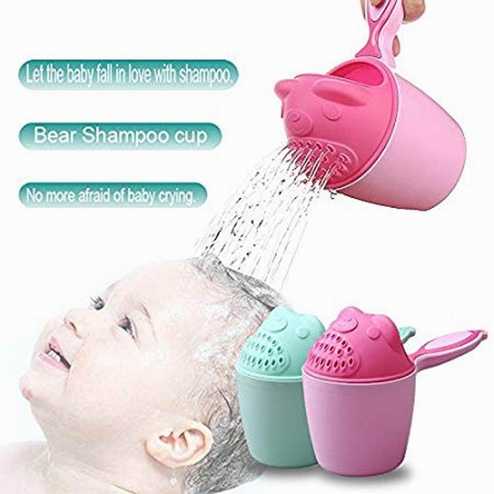 vitihipsy Baby Shampoo Risciacquo Cup Spoon Shower Cup Swimming Bailer Shampoo Cup Prodotti per Bambini