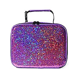 Reversible Sequin Thermal Insulated Lunch Bag