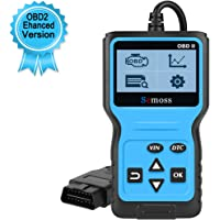 Semoss Profesional OBD2 Diagnósticos Scanner Universal EOBD Can