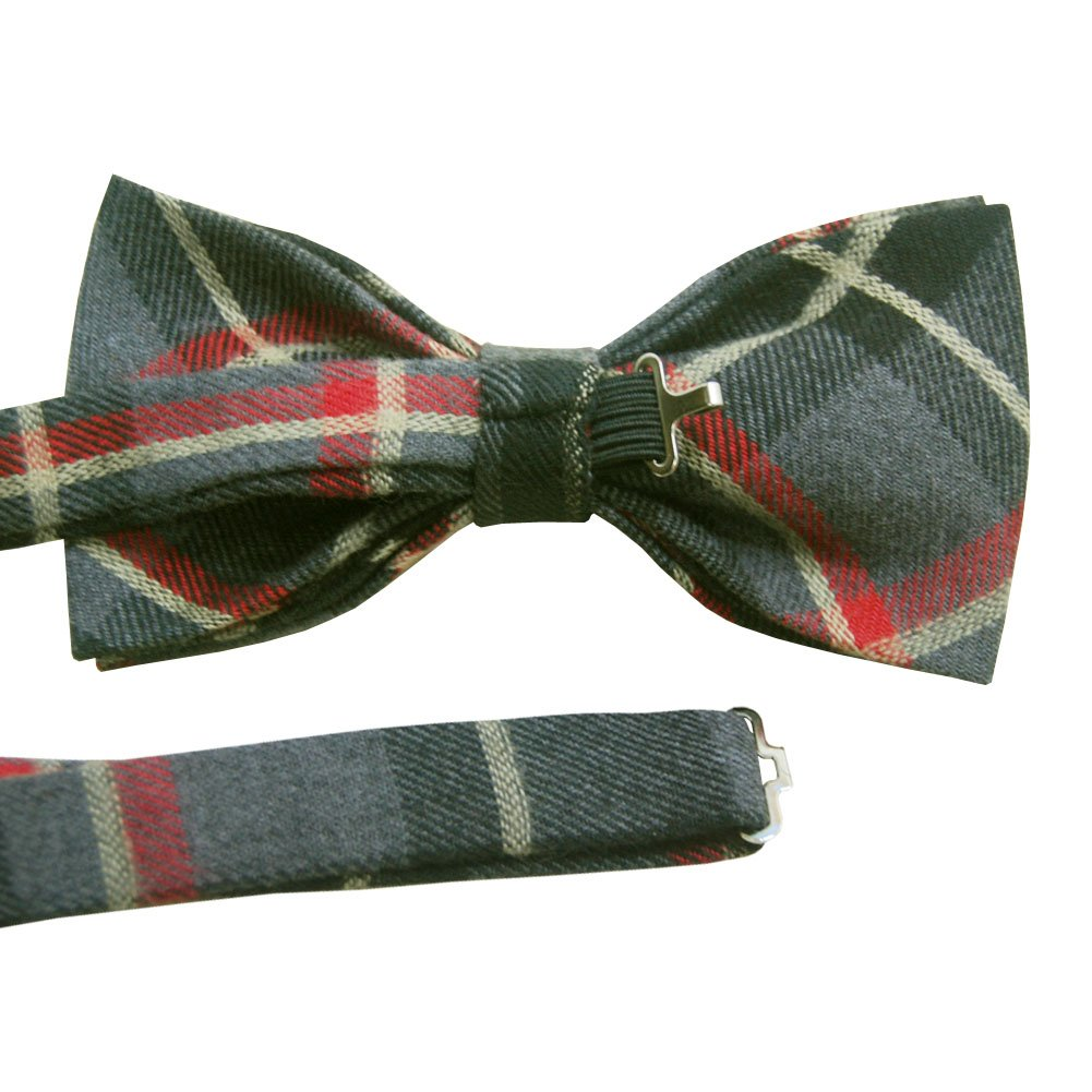 ST34 Brand New Wool Pretied Tuxedo bow tie for MEN and bow tie for BOY Dad Son SET-Various Colors