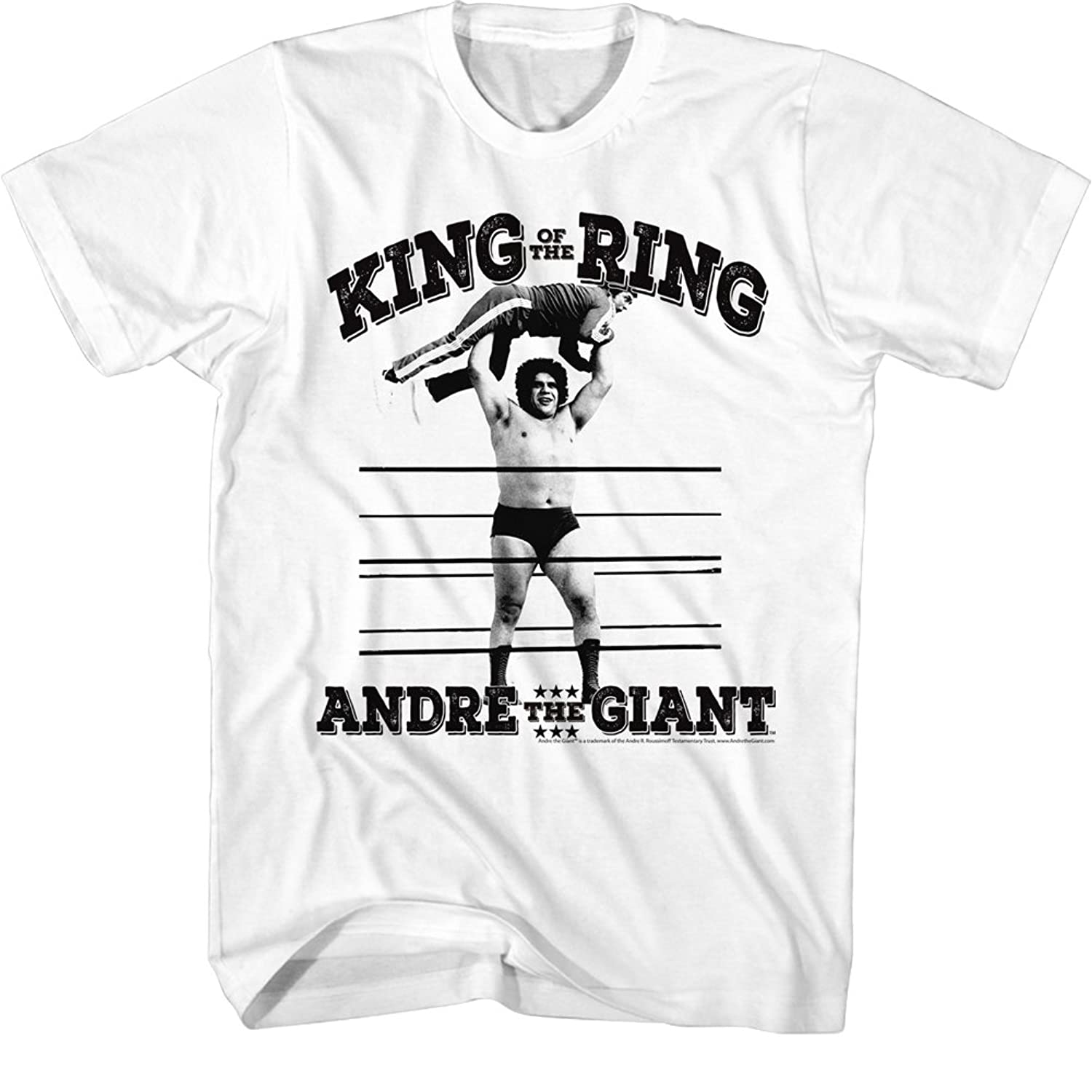 Andre The Giant - Mens King Of The Ring T-Shirt