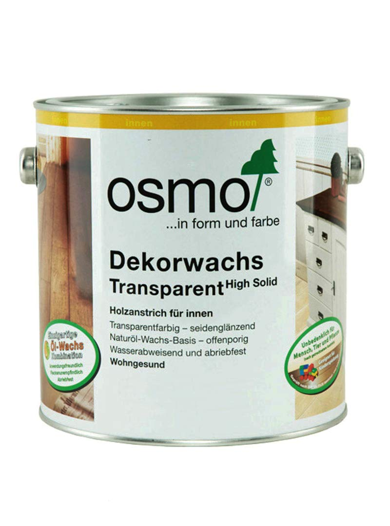 Osmo Wood Wax Finish Lightly Steemed Beech 3102 0.75L