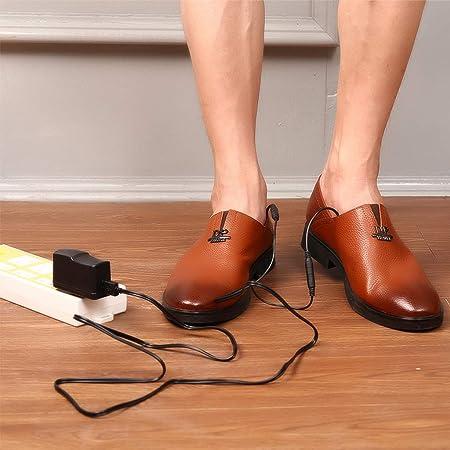 guoyy eléctrica Plantillas calefactables, USB Batería de zapatos Warmer Safe Hombre Plantilla de mujer invierno cálido Plush cálido 35-40: Amazon.es: Salud ...