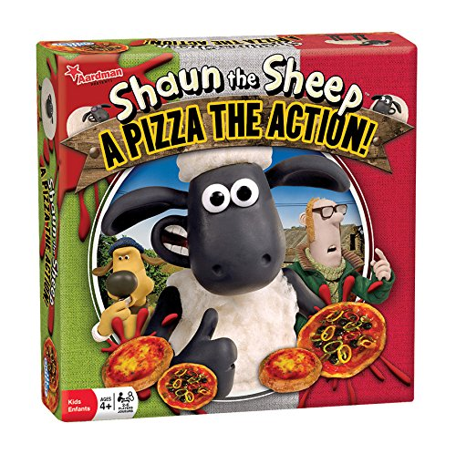 Outset Media - Shaun the Sheep A Pizza the Action Board Game - Based on the Popular Wallace and Gromit Children's Cartoon - Ages 4+]()