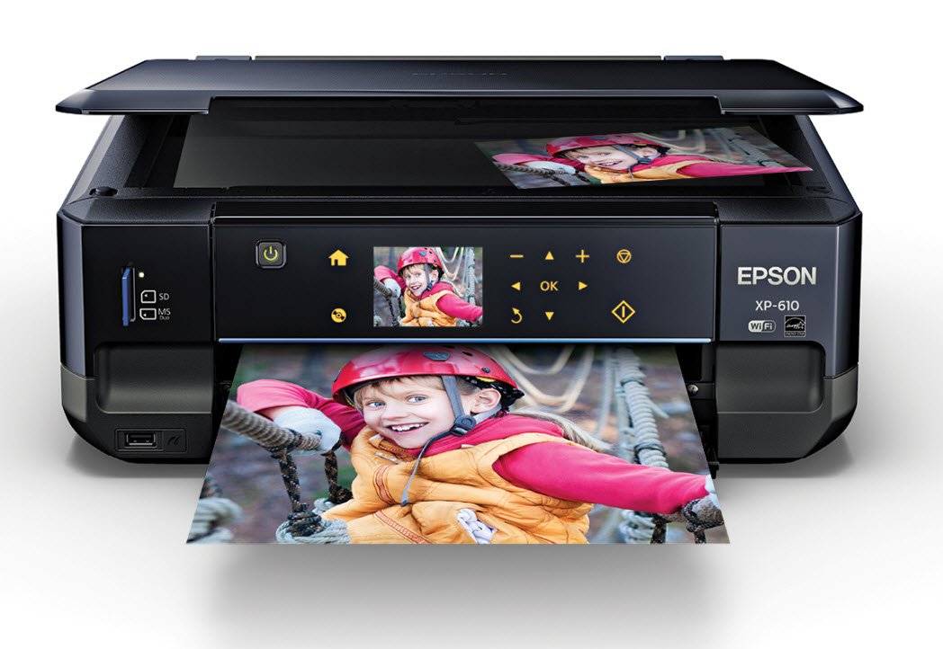 Epson C11 Cd31201 Expression Premium Xp 610 Wireless Color Photo Printer With Scanner And Copier by Epson