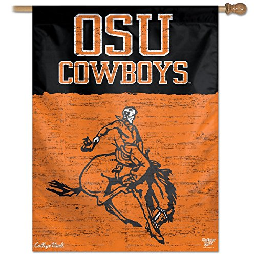 Wincraft Oklahoma State Cowboys College Vault 27x37 Vertical Flag