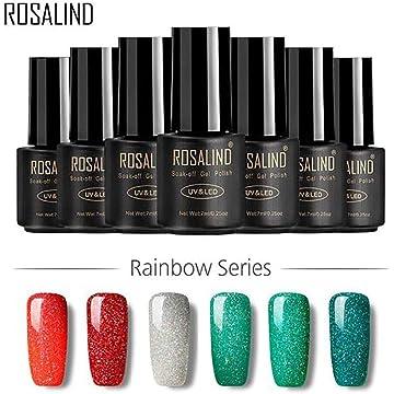 Shiny Effect Nail Gel Long Lasting Varnishes Nail Polish UV Nail Art Tools 1PC
