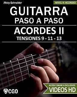 Acordes I - Guitarra Paso a Paso: Tríadas, Cuatríadas, Diatónicos, Power chords . . .: 4: Amazon.es: Schneider, Ricky: Libros