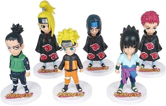 Sasori Naruto Mini Figuren Set aus PVC Itachi 10cm 6 Figuren mit Naruto