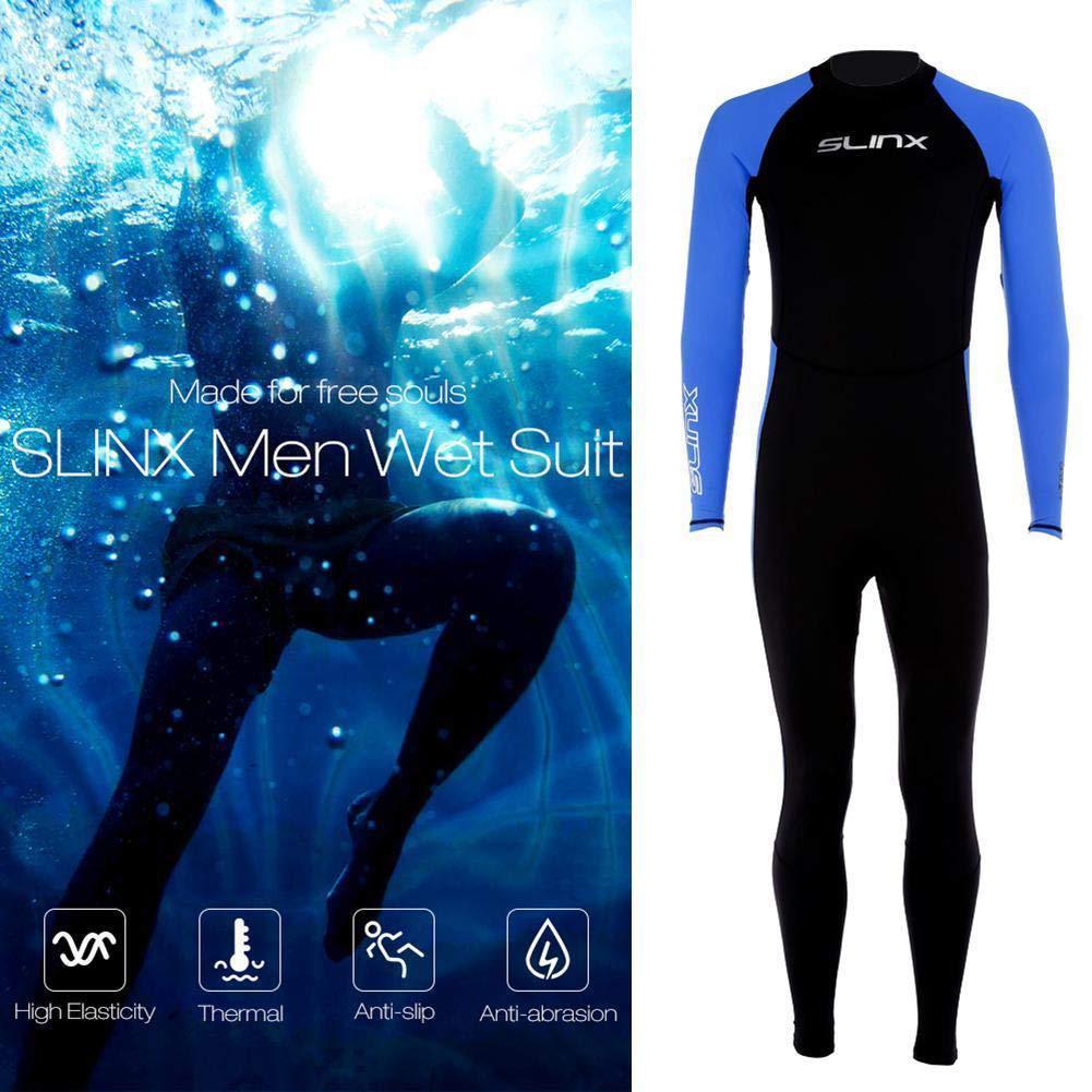Kalaokei Anti-UV s/¨/¦chage Rapide Complet Body plong/¨/¦e Costume Stretch Natation Surf Snorkeling v/¨/ºtements-L