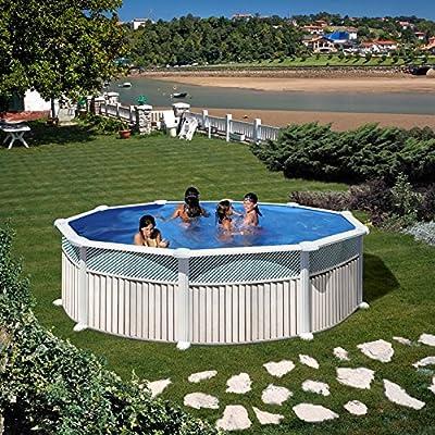 San Marina Pools - Piscina de Chapa Capri 350 x 120 cm + ...