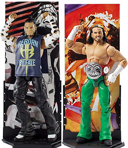 Ringside PACKAGE DEAL Hardy Boyz  WWE Toy Wrestling Action F
