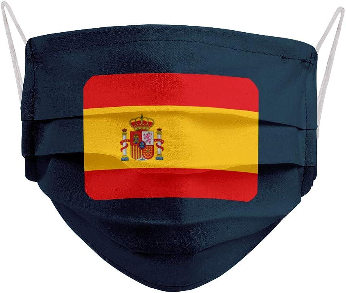 Mascarilla Bandera de España con Escudo: Amazon.es: Ropa y accesorios
