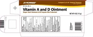 Perrigo Vitamin A and D Ointment 4 oz Pack of 3