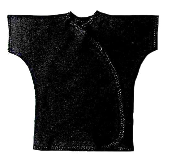 06ff0a4f2fb0 Amazon.com  Jacqui s Unisex Baby Cotton Short Sleeve Kimono Wrap T ...