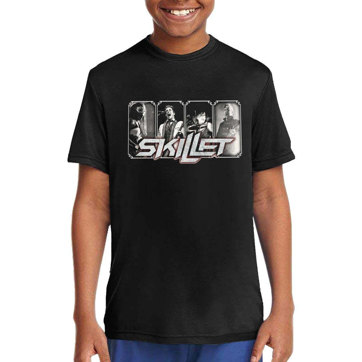 Skillet Band Mens Fashion Athletic Casual Hoodies Long Sleeves Loose Fit Sweatshirt with Kangaroo Pocket