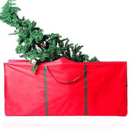 large durable christmas tree storage bag ehonestbuy 600d oxford holiday rolling tree bag organizer for - Rolling Christmas Tree Storage Bag