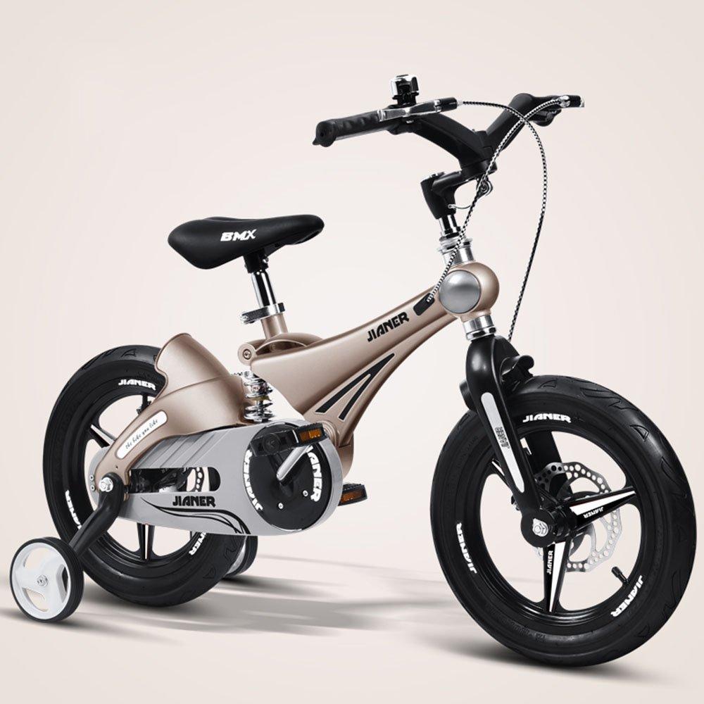 美しい 家子供用自転車、ベビーカー、マウンテンバイク、自転車、子供用自転車、自転車 (色 : ゴールド, サイズ さいず : 100*50*50cm) B07CXZCRRHゴールド 100*50*50cm