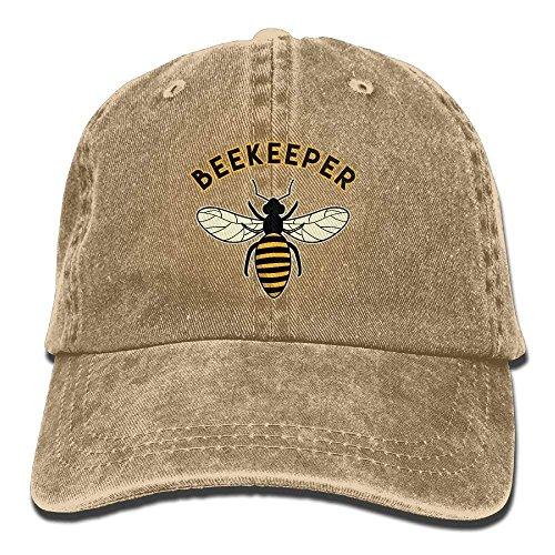 Boniface3 Unisex Washed Beekeeper Fashion Denim Baseball Cap