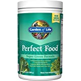 Garden of Life Whole Food Vegetable Supplement - Perfect Food Green Superfood Dietary Powder, 300g