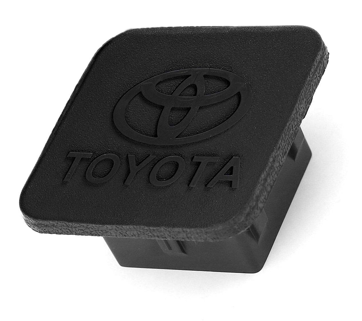 Black BoJie Car Trailer Hitch Cover,with Toyota Logo for Toyota Accessories PT228-35960-HP Receiver Tube Hitch Plug for Toyota