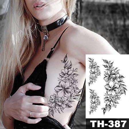 adgkitb 3 Piezas Impermeable Temporal Tatuaje Pegatina Tatuaje ...