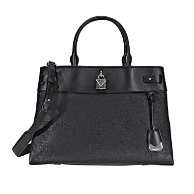 great discount sale wide selection of colours and designs great deals Michael Kors Gramercy Large Pebbled Leather Satchel
