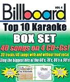 Billboard Top-40 Karaoke - Box Set Vol. 4 (40+40-song Box Set) [4 CD]