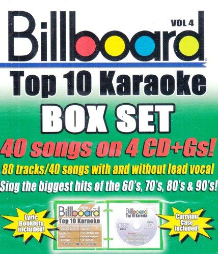 (Billboard Top-40 Karaoke - Box Set Vol. 4 (40+40-song Box Set) [4)