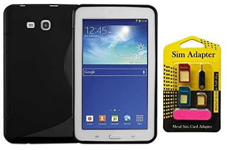 finest selection 94a24 83b3f Samsung Galaxy Tab 3 Lite SM-T111 Back Case Cover +: Amazon.in ...