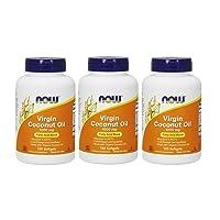 Now Foods, Virgin Coconut Oil, 1000 mg, 120 Softgels