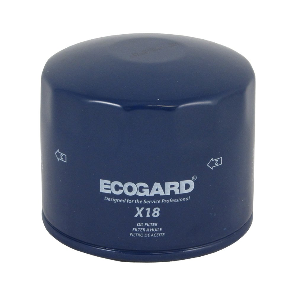 Ecogard X18 Spin On Engine Oil Filter For Conventional Volvo 960 1997 Fuel Location Premium Replacement Fits 850 S70 V70 240 940 740 244 245 S90
