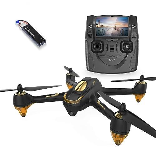 Hubsan JYZ drone H501S X4 BRUSHELESS FPV Quadcopter 1080p Camera GPS Automatic Return Altitude Hold Headless Mode Drone (black)
