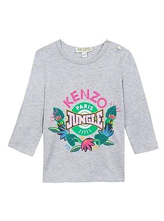 9e5594ef47a3 Kenzo T-Shirt ERMELYNE BB Gris 18M Gris  Amazon.fr  Vêtements et ...